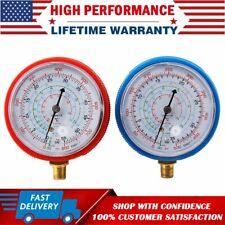 High Amp Low Pressure Gauge R134a R22 R404a Refrigerant Manifold Air Conditioner