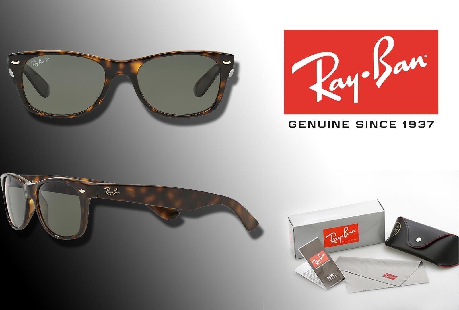 ray ban sunglasses wayfarer polarized  green polarized