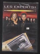 NEUF DVD LES EXPERTS CRIME SCÈNE INVESTIGATION 4 ÉPISODES N°13 A 16 SAISON 1