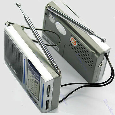 Mini Portable AM FM Pocket Radio 2 Bands Receiver DC 3V