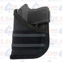 Pocket Holster For S&w Bodyguard 380 Sticky Grip Band Made In U.s.a.