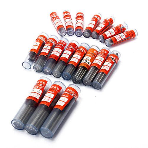 10Pcs/Set 0.3mm-3mm Mini Micro HSS Spiral Twist Drill Bit Dr