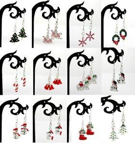 Christmas Earrings Various Designs