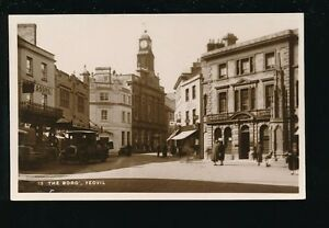 Details about Somerset YEOVIL The Borough street scene c1920s? RP PPC
