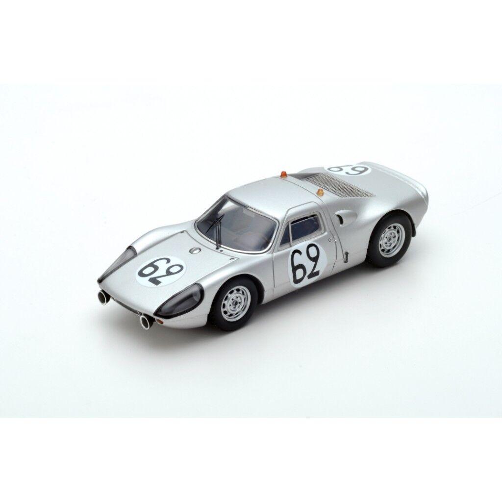 1 43 Porsche 904 Christian piorojo Le Mans 24 horas 1966  62
