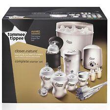 Tommee Tippee Closer to Nature Complete Baby Bottle / Steriliser Starter Set