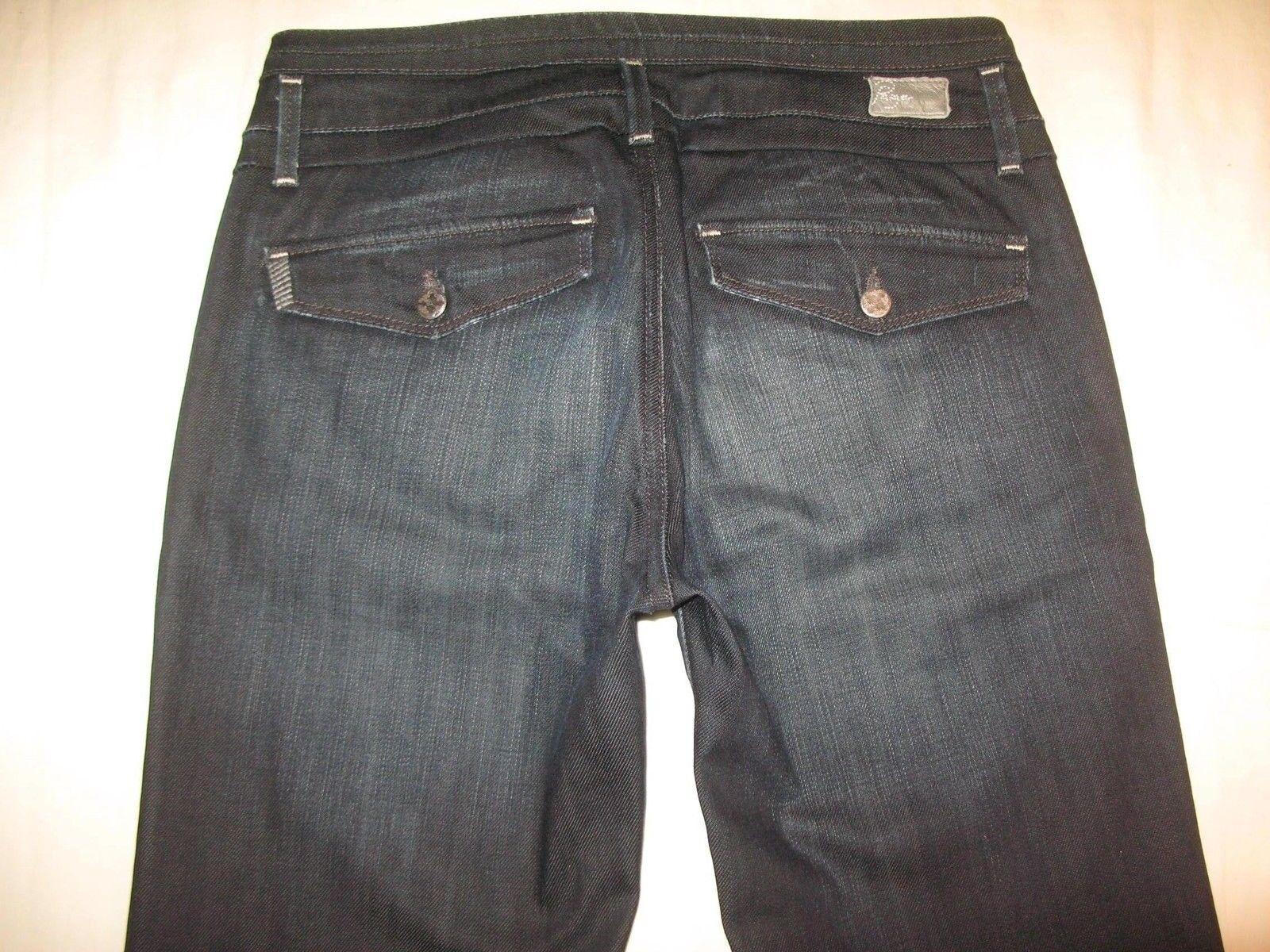Paige Premium Jeans Foothill Low Rise Bootcut Flap Pocs Sz 27