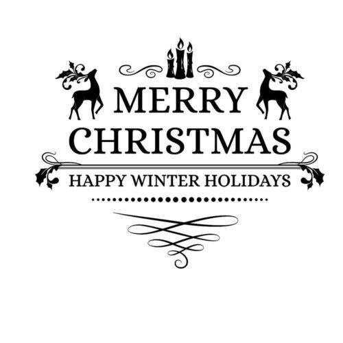 Removable Snowflake Bells Wall Sticker Vinyl Decal Merry Christmas Window Decor