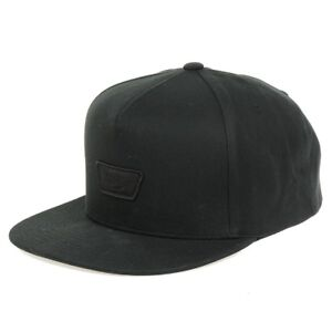 Details zu VANS MN Mini Full Patch Snapback Baseball Cap schwarz VN0A36I6BLK