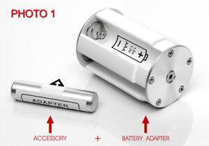 HASSELBLAD-BATTERY-ADAPTER-500EL-ELM-ELX-6V-5-Batterie-1-2V-1-5V-AAA