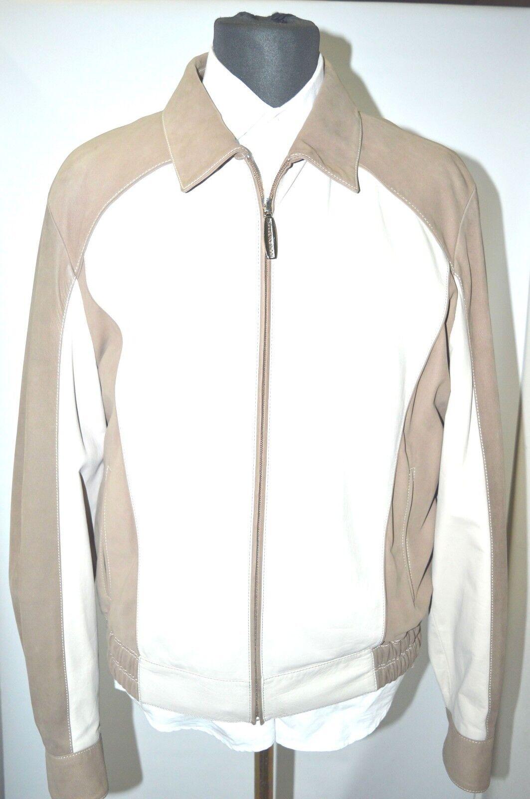 NEW 7950,00  STEFANO RICCI  Outwear   Leder Coat Größe Us S Eu 48 (G13)