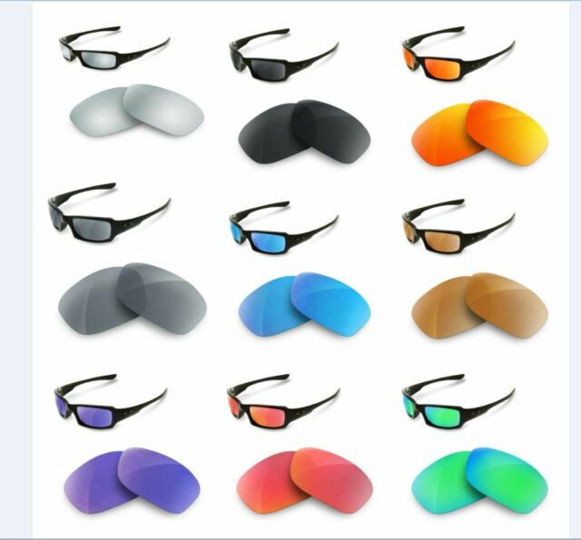 new polarized replacement lenses for oakley fives squared