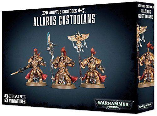 Games workshop warhammer 40.000 adeptus custodes allarus hüter miniaturen
