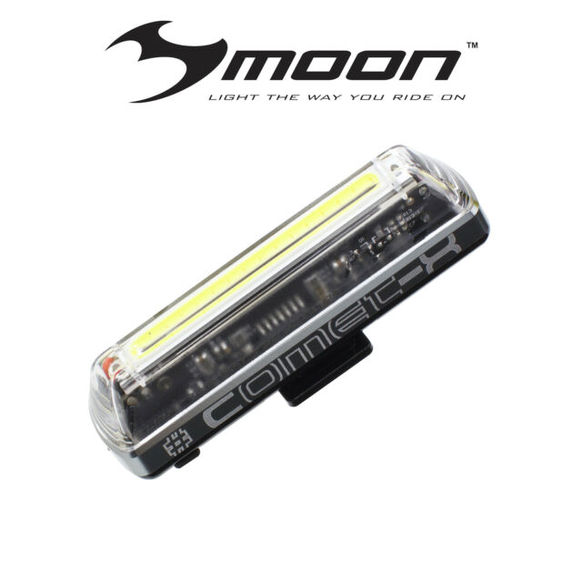 MOON COMET-X 120 LUMEN FRONT LIGHT- FREE EXPRESS POSTAGE