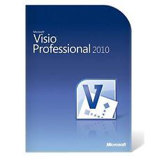 GENUINE Microsoft Visio Pro 2010 32 & 64 Bit