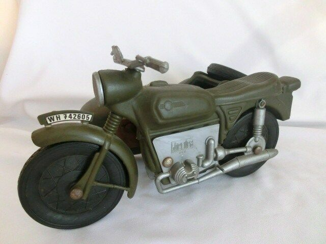 Vintage 1970's Cherilea Action Man GI Joe Motorbike & Sidecar