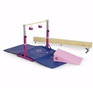 American-girl-Gymnastics-Set-NEW-Some-box-damage