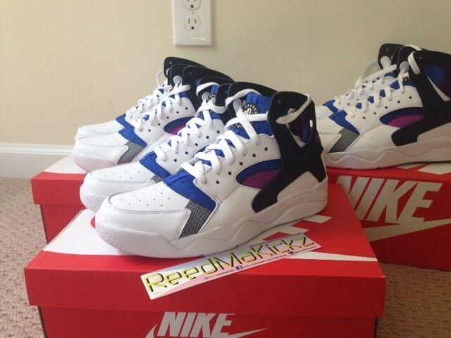 the best attitude b3ce0 350af Nike Air flight huarache PMR QS og blanco azul   negro lylon azul blanco  zapatos para hombres y mujeres, el limitado tiempo de descuento 60d514