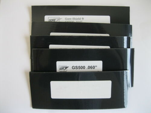 Conductive Adhesive backed 10,20,40,60,80 mils Gore-Shield GS500 EMI Gasket
