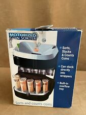 New Listingmag Nif Accu Wrapper Motorized Coin Sorter In Box Sorts Stacks Counts