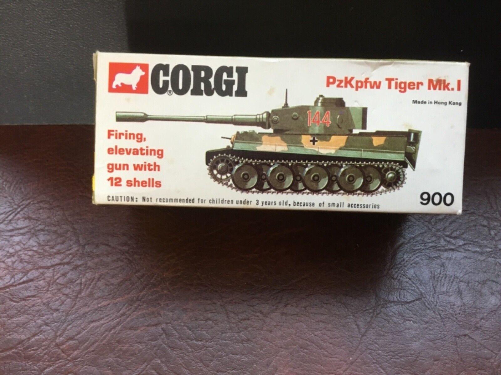 Corgi  PzKpfw Tiger Mk.1 Boxed
