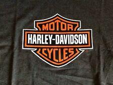 Harley Davidson dark gray Bar And Shield Shirt Nwot Men's medium
