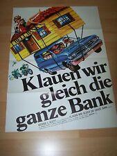 KLAUEN WIR GLEICH DIE GANZE BANK - Kinoplakat A1 (B)´74 - George C. Scott