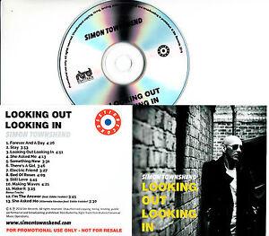 SIMON-TOWNSHEND-Looking-Out-Looking-In-2016-UK-13-trk-promo-test-CD-Eddie-Vedder