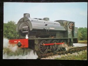 POSTCARD-R-S-H-0-6-0-SADDLE-TANK-LOCO-NO-150-WARRINGTON-SERVED-WITH-THE-WAR-DE