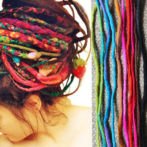 Charming-Handmade-Colorful-Wool-Dreads-Festival-Dreadlocks-Hair-Extensions