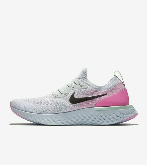 Nike Epic React Flyknit AQ0067 007 Pink Beam Shoes for Sale