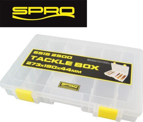 Spro Tackle Box 27,3x19x4,4cm Kunstköderbox Köderbox Tackle-Box Tacklebox Angelkoffer & -boxen Angelsport