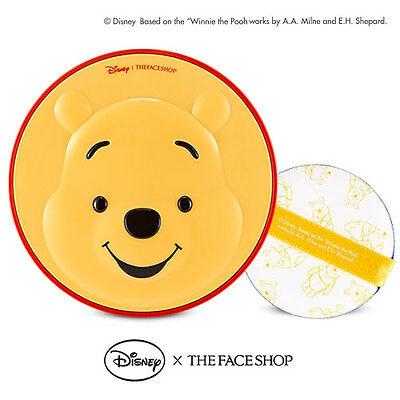 [THE FACE SHOP]  X Disney CC Cooling Cushion Pooh V201 Apricot Beige
