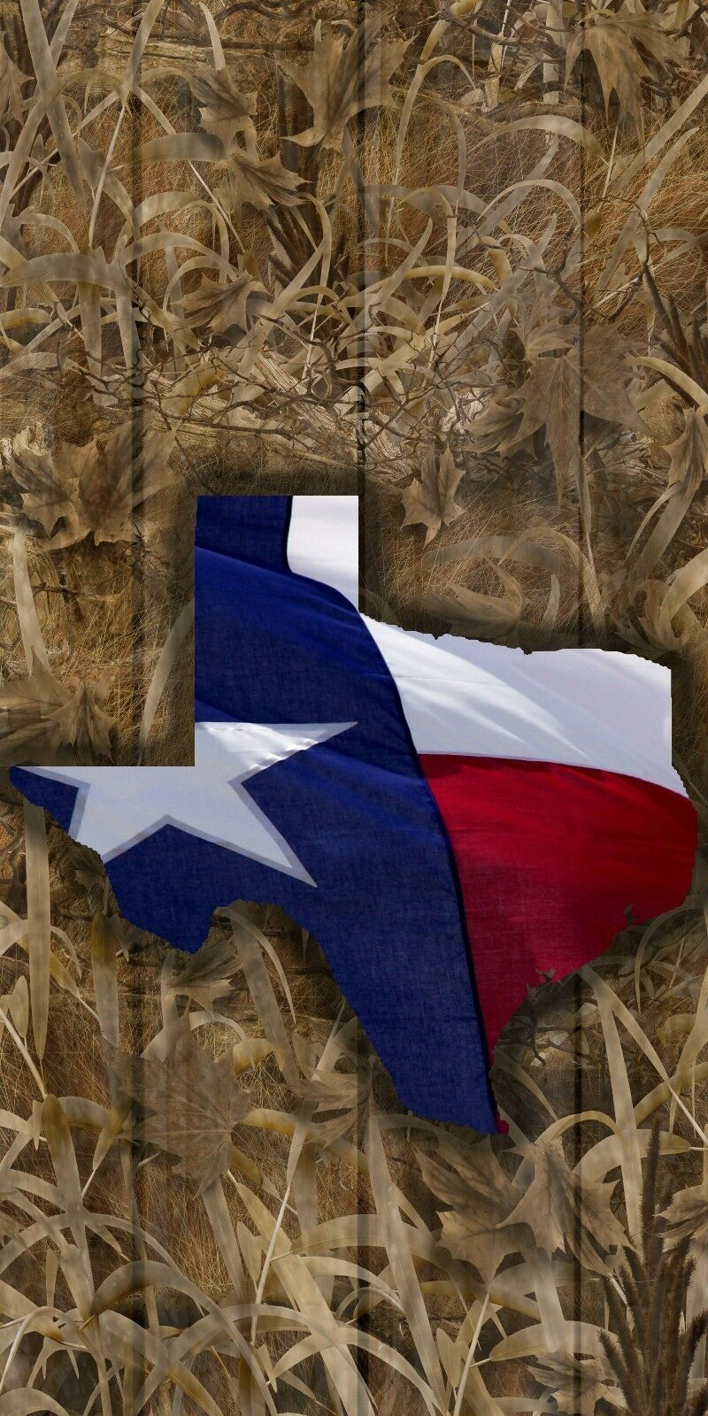 Shadow Grass Camouflage Texas state flag cornhole game board decal wraps