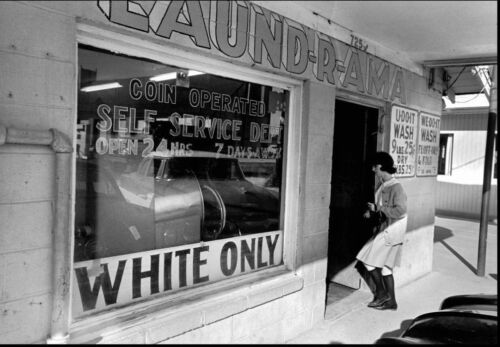 White Only Laundry Segregation PHOTO Black Civil Rights New Orleans
