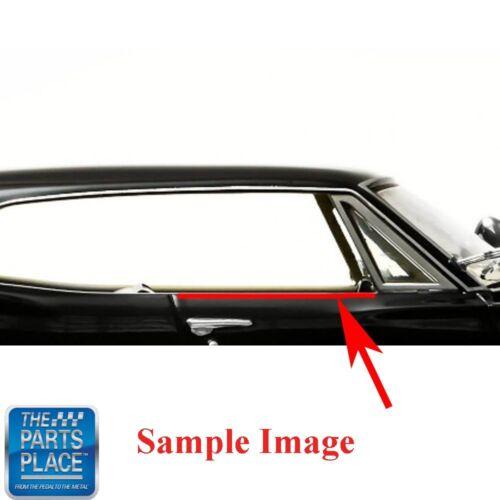 Coupe F726 1969-72 Pontiac Grand Prix Windowfelt Kit 8pc