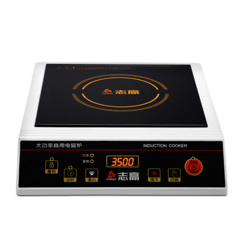 Commercial 3500 W induction Cuisinière électrique Poêle Poêle Mini Hotpot avion 220 V