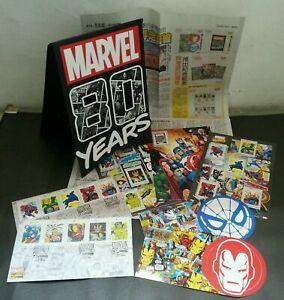 SJ-Malaysia-MARVEL-80-Years-2019-Comic-Heroes-FDC-folder-set-MNH-official