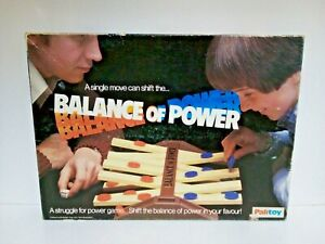 Vintage-amp-Rare-Palitoy-Balance-Of-Power-Retro-Game-100-Complete-Strategy-Game