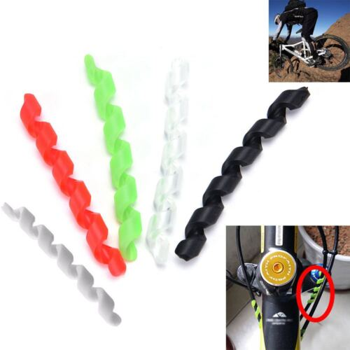 5Pcs Protection Bike Shift Brake Bicycle Cable Protector Sleeve