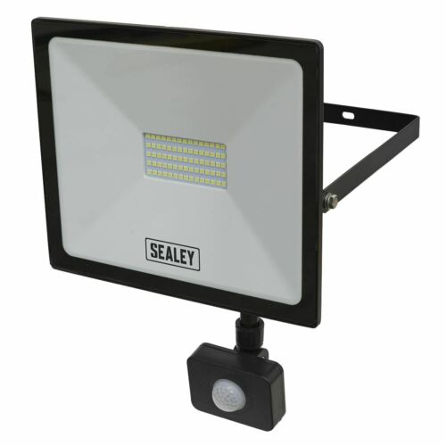 Sealey LED113PIR EXTRA SLIM PER AMBIENTI CON SENSORE PIR 50W SMD LED