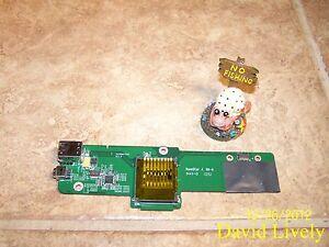 MR7GX MR7GX Card Reader IO Circuit Board Dell Vostro 1015 USB Firewire