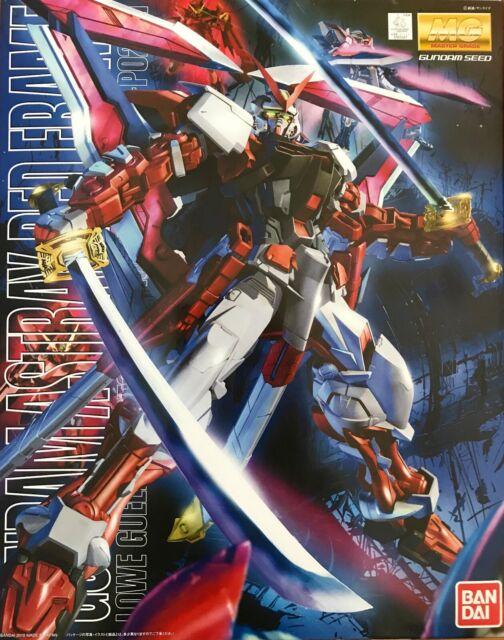 Bandai MG 1/100 Scale Gundam MBF-P02 Astray Red Frame Model Kit Made in Japan