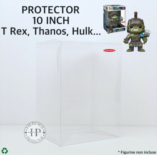POP PROTECTOR HULK 10 INCH PROTECTION Plastique FUNKO 10 pouces Vinyl Box Case