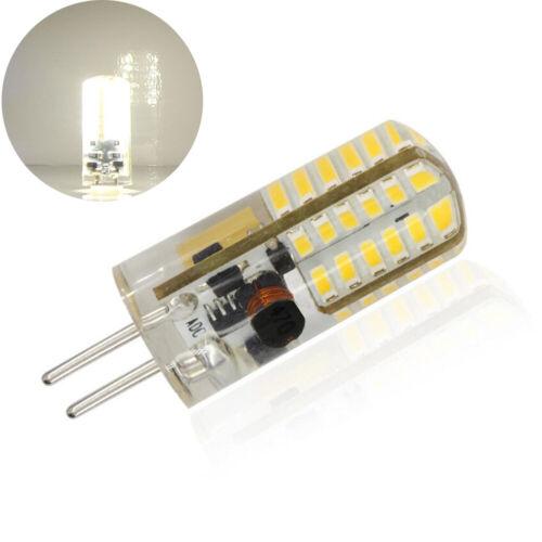 2-4PCS GY6.35 LED Light Bulbs Bi-Pin Halogen Lamp Dimmable 3W 12V AC//DC Replace