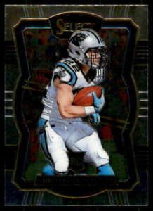 Christian-McCaffrey-Rookie-Card-2017-Select-Prizm-Silver-155
