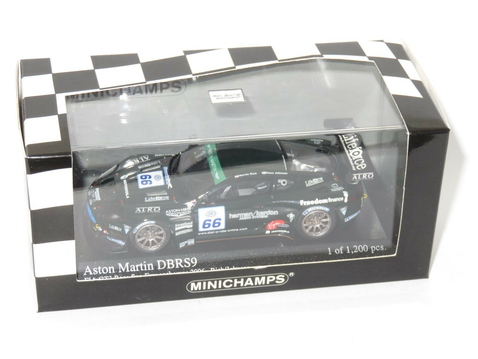 Envíos y devoluciones gratis. 1 43 Aston Martin DBRS 9 FIA GT3 Spa Spa Spa 2006 Rico Johnson  descuento de ventas