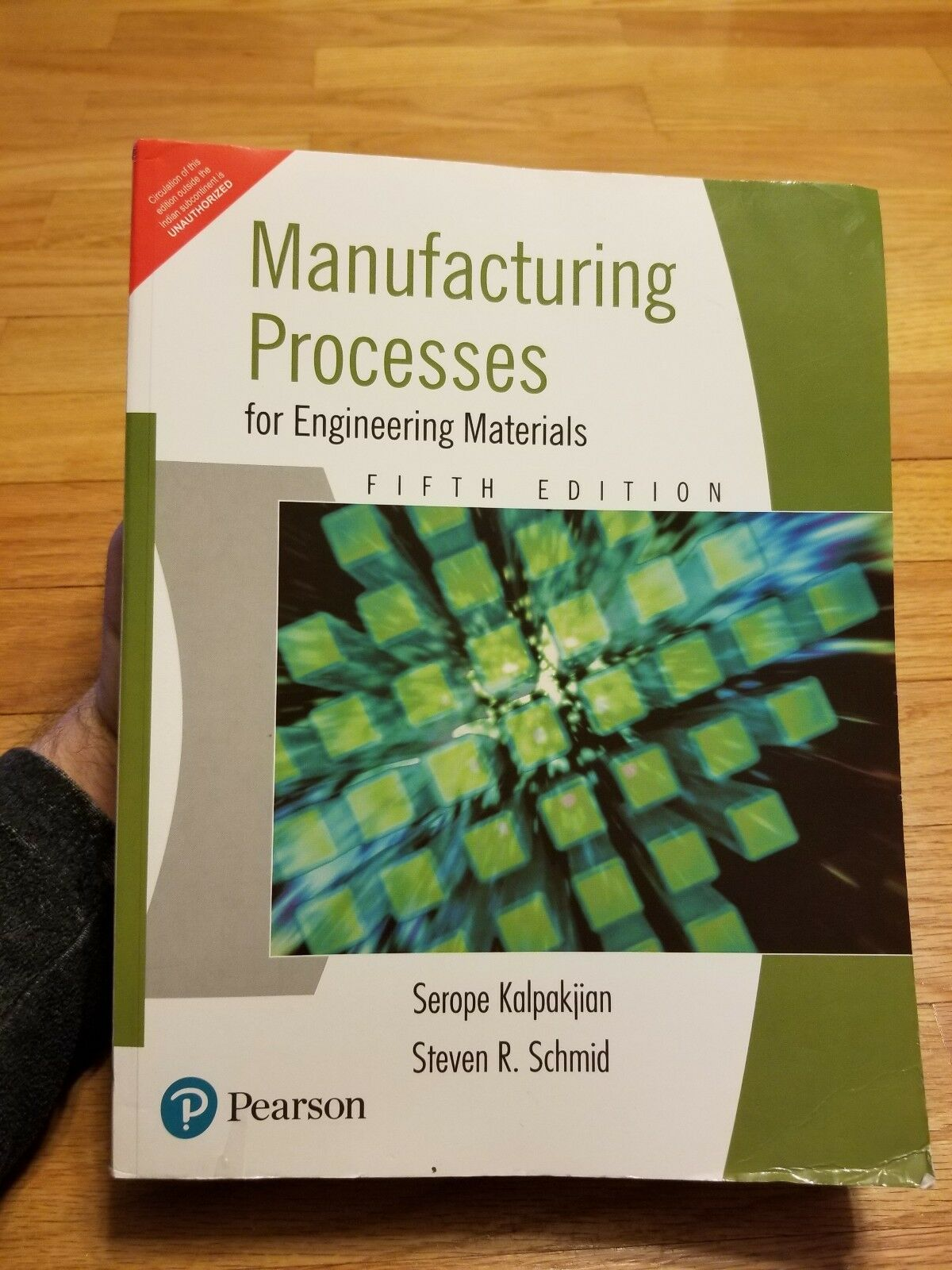 Manufacturing Processes for Engineering Materials by Serope Kalpakjian and  Steven R  Schmid (2007, Hardcover)