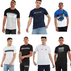 Nicce-London-T-Shirts-amp-Prendas-para-el-torso-estilos-surtidos-Fit