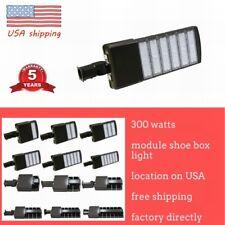 LED Parking Lot Light 50/150/200/300W Module Street  Pole fixture Area Light